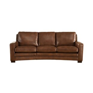 Read Reviews Theodora Craft Leather Sofa by Three Posts Reviews (2019) & Buyer's Guide