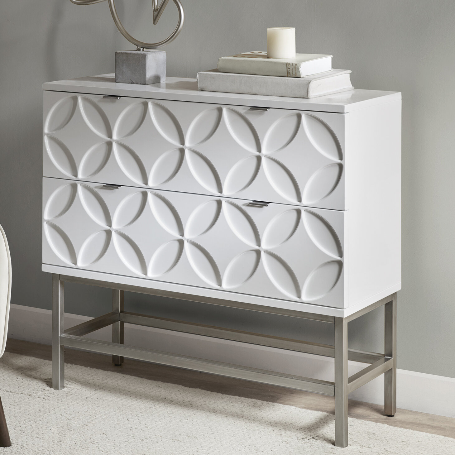 Walthall 2 Drawer Accent Chest