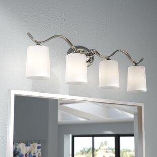 Three Posts Greenwell 4-Light Vanity Light