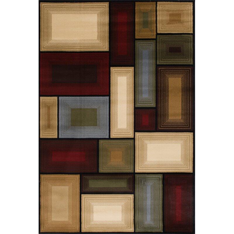 Wildon Home Bintah Geometric Multi Colored Area Rug Reviews