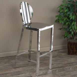 Hicklin 29.3 Bar Stool by House of Hampton Cool