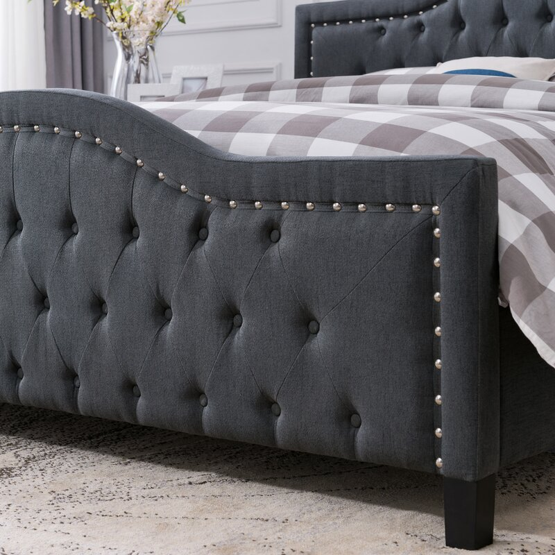 Darby Home Co Pierce Upholstered Platform Bed Reviews Wayfair