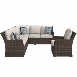 Adele Patio Sectional with Cushions