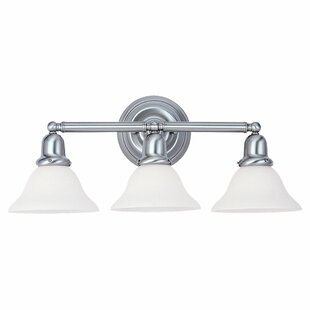 Three Posts Darmstadt 3-Light Vanity Light