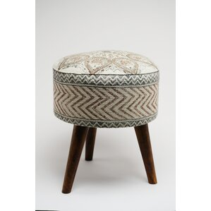 Cyrilla Ottoman by Bungalow Rose