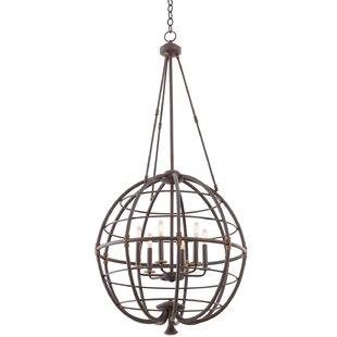 Kalco Larson 6-Light Globe..