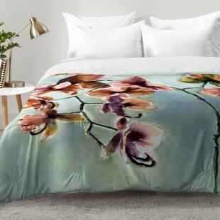 East Urban Home Orchids Comforter Set