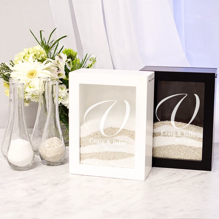Sand Ceremony Wedding.Wedding Unity Sand Ceremony Shadow Box Set