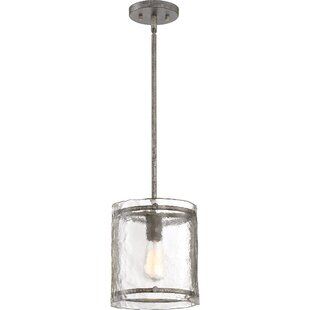 Hasse 1-Light Drum Pendant by Highland Dunes
