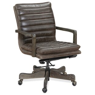 Langston Genuine Leather Conference Chair