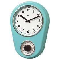 Retro Kitchen Wall Clock Wayfair
