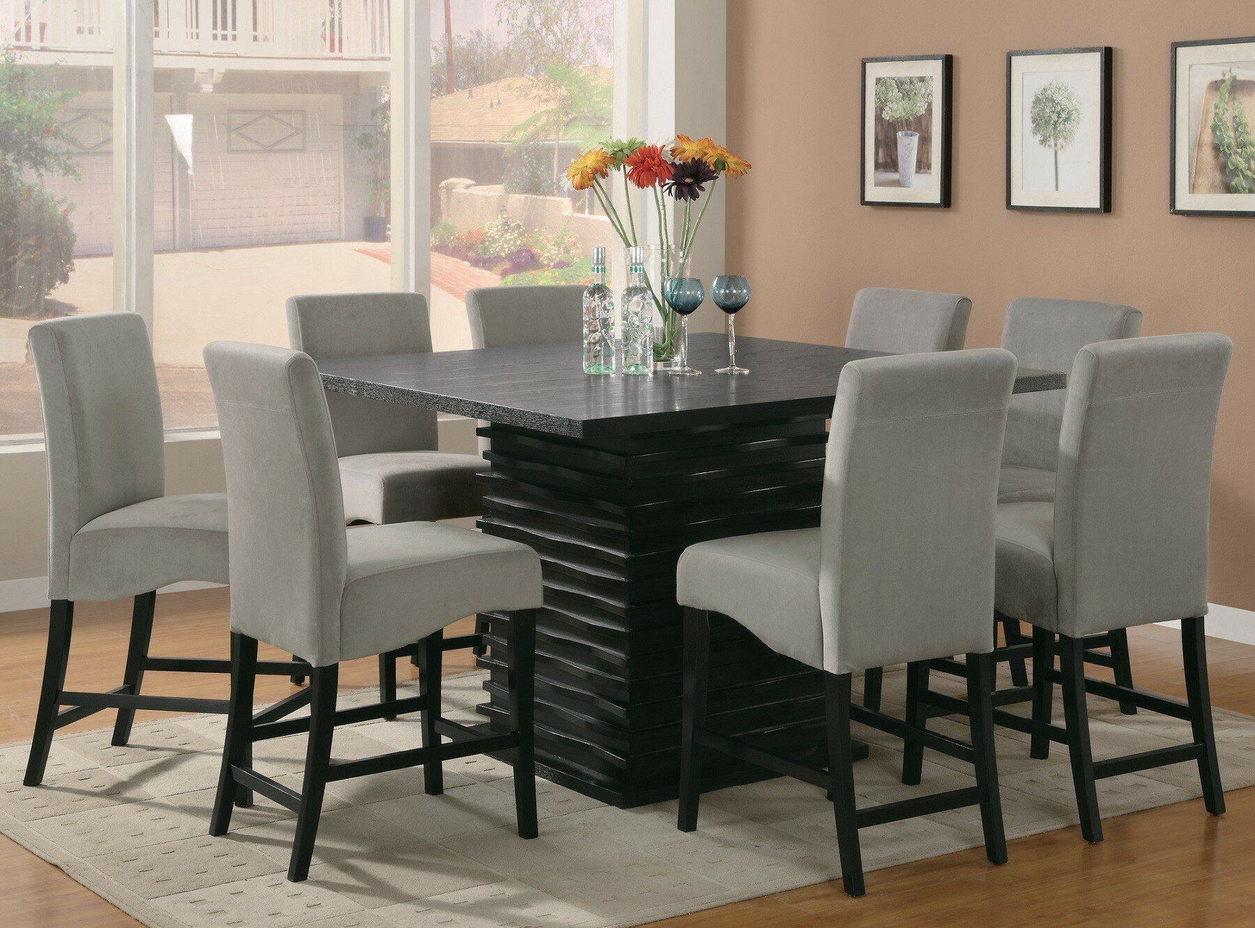 Exceptionnel Infini Furnishings Jordan 9 Piece Counter Height Dining Set U0026 Reviews |  Wayfair