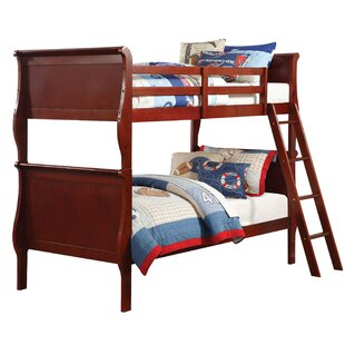 Lunada Twin Over Twin Bunk Bed