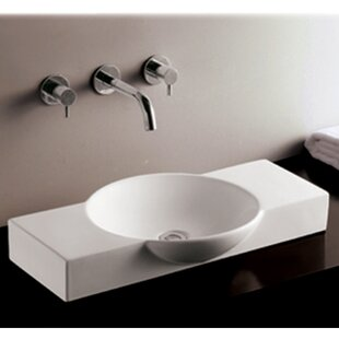 Whitehaus Collection Isabella Ceramic Specialty Vessel Bathroom Sink