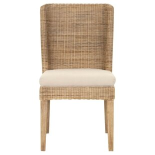 Haines Upholstered Dining Chair (Set of 2) Bayou Breeze
