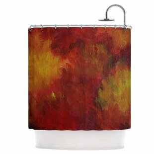 Winsor Flower Single Shower Curtain