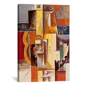 'Violin and Guitar' by Pablo Picasso Print