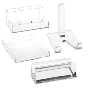 Honey Can Do Acrylic Desk Organization Bundle