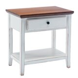 Deluxe End Table with Storage by Charlton Home®