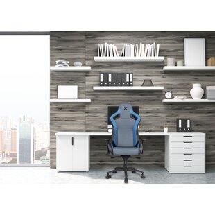 RapidX Carbon Line Sleek Design Metal Office Chair
