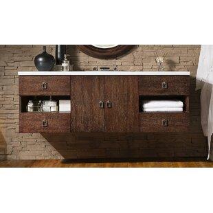 Reviews Mcdermott 60 Single Bathroom Vanity Set ByIvy Bronx