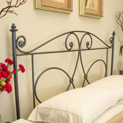 Hawthorne Open-Frame Headboard Benicia Foundry and Iron Works Size: Queen