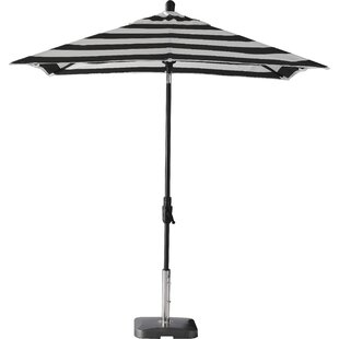Breakwater Bay Wiebe Auto Tilt 7.5' Square Market Umbrella (Set of 2)
