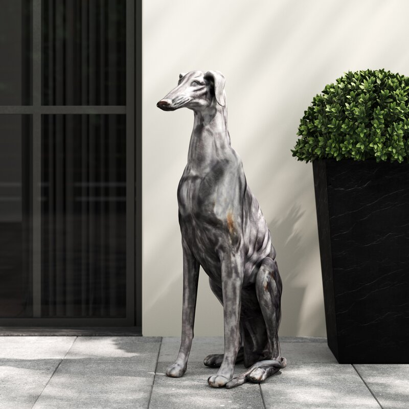 Munday Dog Statue