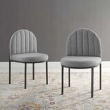 Isla Upholstered Side Chair (Set of 2) by Everly Quinn