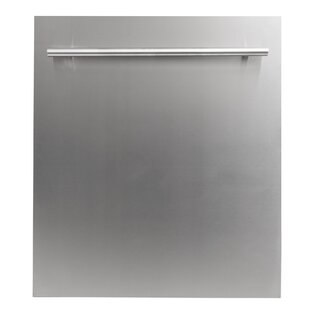 24'' 40 dBA Built-in Dishwasher with Stainless Steel Tub by ZLINE Kitchen and Bath