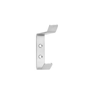 Stainless Steel Curved Wall Hook By Symple Stuff