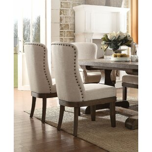 Onsted Upholstered Dining Chair (Set of 2) Gracie Oaks