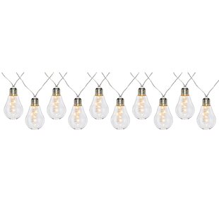 Glass Christmas 50 Light LED String Lights By The Seasonal Aisle