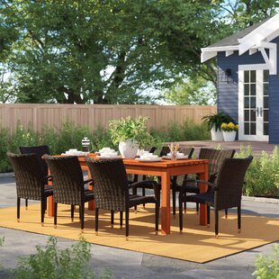 Brighton 9 Piece Rectangular Dining Set