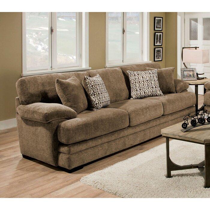 Ensminger Transitional Chenille Sofa