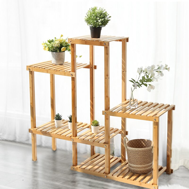 Orner Rectangular Multi-Tiered Plant Stand