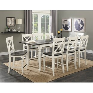 Beachcrest Home Mulford 9 Piece Extendable Dining Set