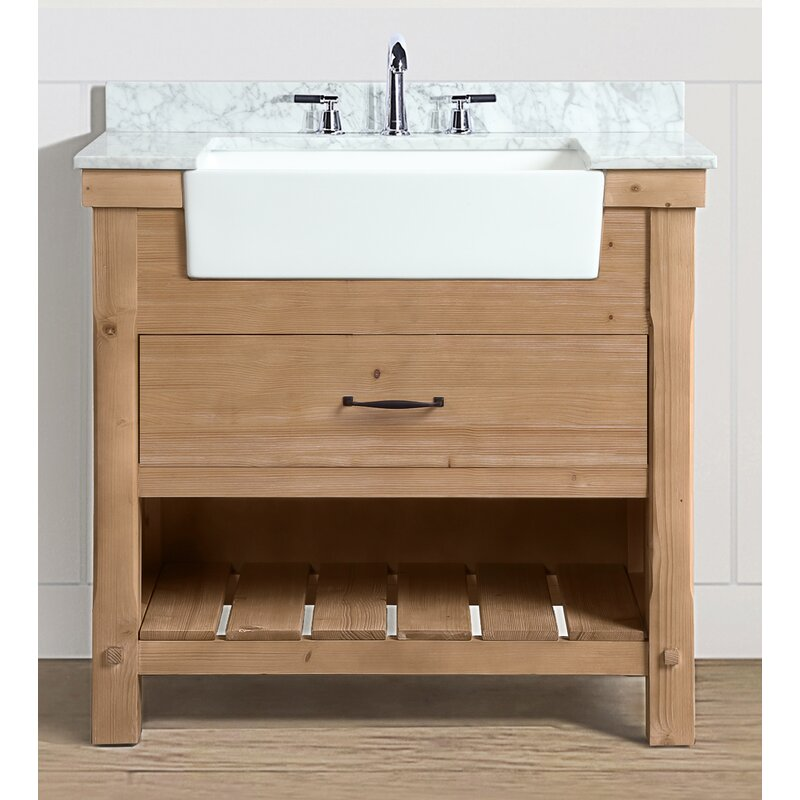Three Posts Kordell 36 Single Bathroom Vanity Set Reviews Wayfair