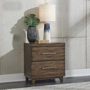 Schacht 2 Drawer Nightstand by Brayden Studio