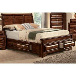 Justa Low Profile Storage Sleigh Platform Bed by Canora Grey