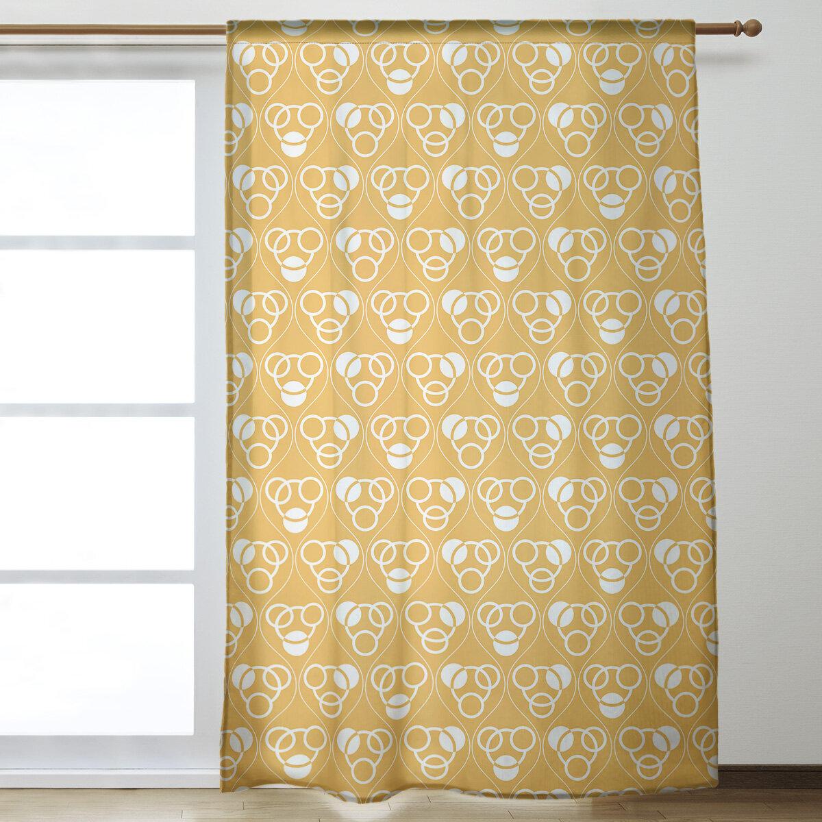 Panels Home Kitchen Kess Inhouse Kess Original Stitches Pink White Decorative Set 30 X 84 Sheer Curtains