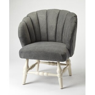 Bungalow Rose Maplewood Slipper Chair