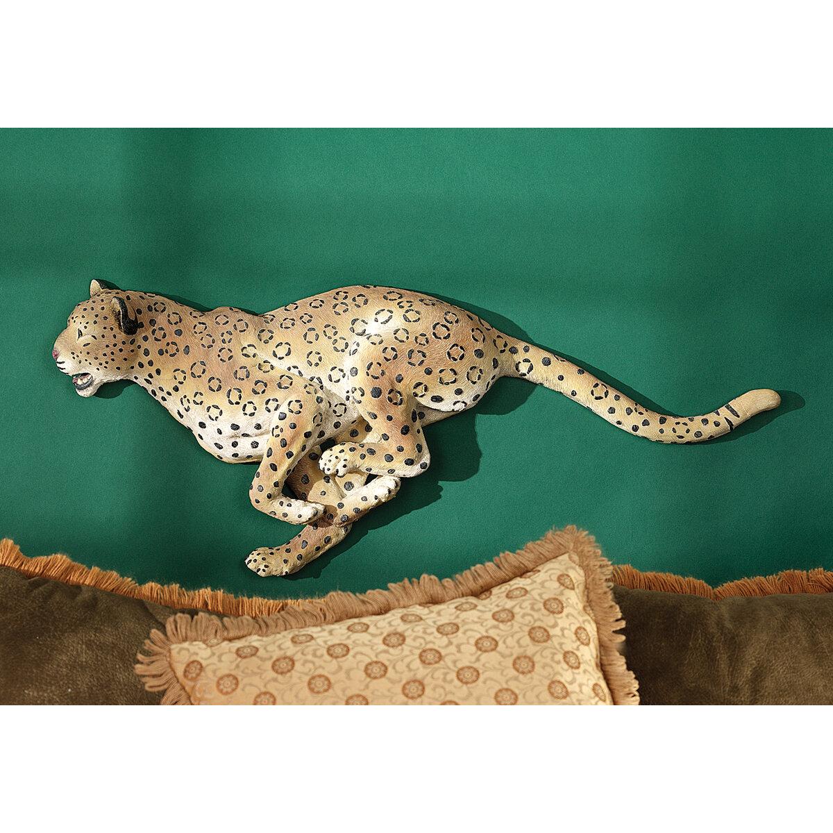 Design Toscano Charging Cheetah Wall