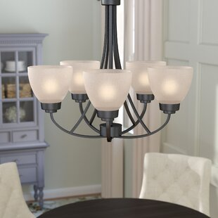 Mcnaughton 5-Light Shaded Chandelier