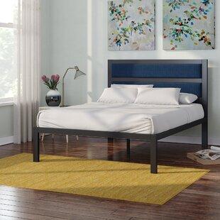 Wrought Studio Royse Metal Upholstered Platform Bed