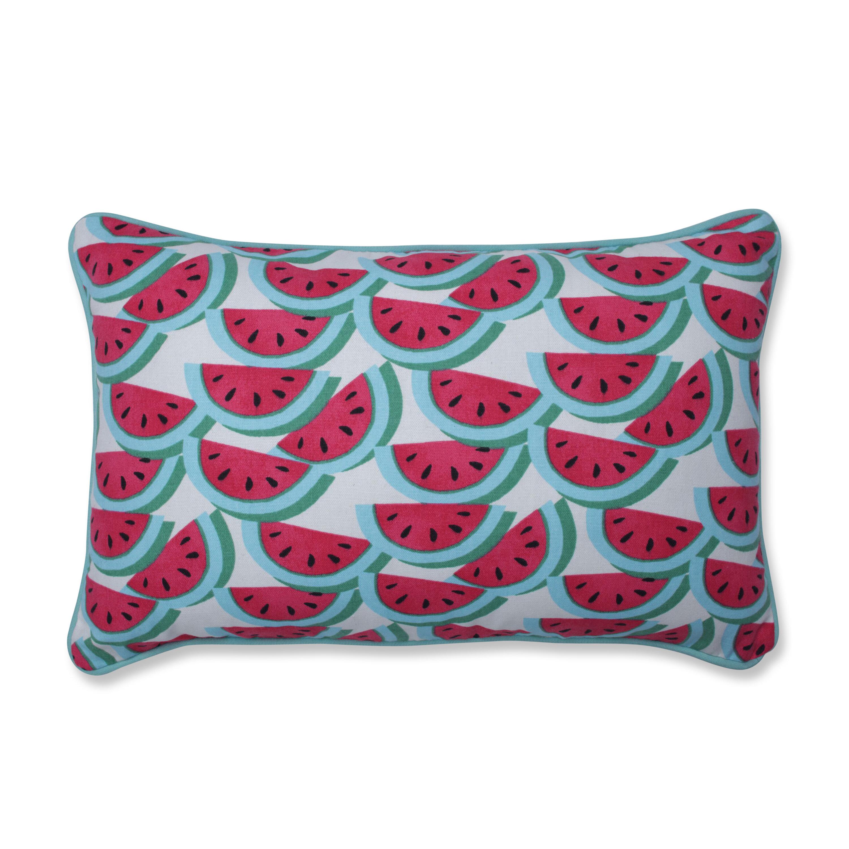 Bay Isle Home Piper Watermelon Cotton Lumbar Pillow Wayfair
