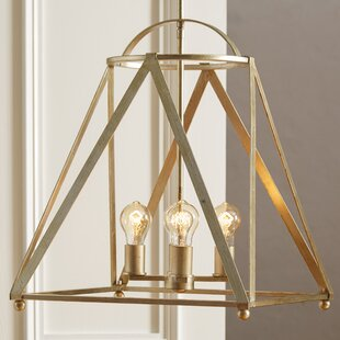 Ogara 4-Light Geometric Chande..