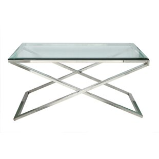 Fashion N You by Horizon Interseas Hudson Cross Coffee Table