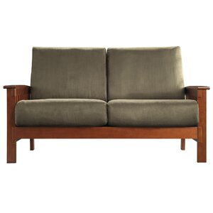Winnifred Mission Loveseat with Cushions