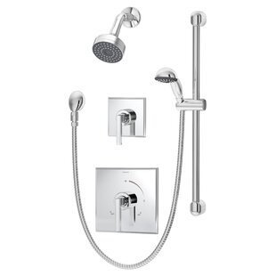 Symmons Duro Pressure Balance Hand Shower Unit with Lever Handle